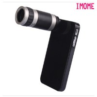 IPhone5 creative apple 4/4s/5s mobile phone with a telephoto lens telescope 8 times photography...