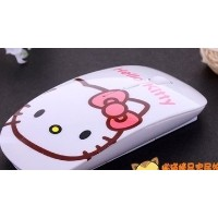 hello kitty A Dream creative wired optical mouse slim portable wireless mouse cartoon