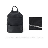 [zoozoom] fabric backpack 1color / b2121