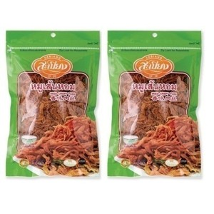 (2)Thai SABIANG Fried Crispy pork With High Protein - Snack スナック