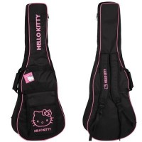 Hello Kitty Guitar Case for Electric/Acoustic Hellokitty Guitar Bag gig bag girls women guitars...