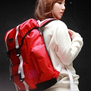 [DAYLIFE] 5DAY(0505) LAZOR2 BACKPACK (RED)