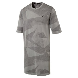 プーマ EVOKNIT IMAGE TEE メンズ Medium Gray Heather