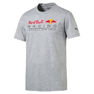 プーマ RED BULL RACING ロゴTシャツ メンズ Light Gray Heather