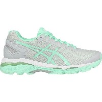 (取寄)アシックス レディース Gel-Kayano23 ランニングシューズ Asics Women Gel-Kayano 23 Running Shoe Glacier Gray/Bay/White