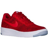 "Nike Air Force 1 Ultra Flyknit Low ""University Red""メンズ University Red/White ナイキ スニーカー エアフォースワン..."