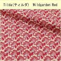 Tilda(ティルダ) Wildgarden Red 481134