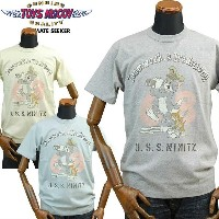 TOYS McCOYトイズマッコイ ミリタリーTシャツ TOM and JERRYトムandジェリー「Teamwork a Tradition!!」TMC1711