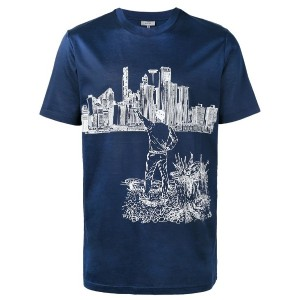 Lanvin - The Man and The City Tシャツ - men - コットン - XS