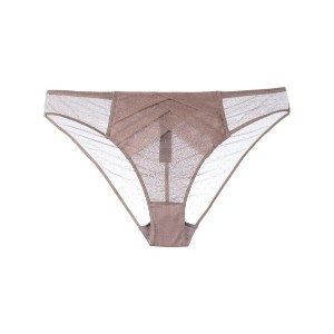 Chantal Thomass - Vison Plumetis thong - women - ポリアミド/スパンデックス - S