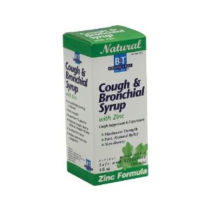Boericke and Tafel Cough and Bronchitis Syrup with Zinc, 4 Fluid Ounce by Boericke and Tafel [並行輸入品]