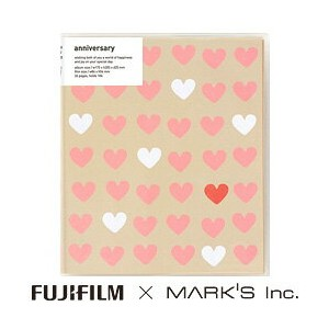 "FUJIFILM<富士フイルム> FUJIFILM×MARK'S Inc. ""チェキ""専用アルバム Wedding HEART 【RCP】 02P03Dec16"