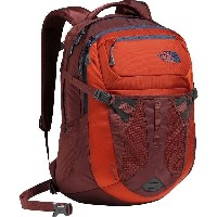 (取寄)ノースフェイス リーコン バックパック The North Face Men's Recon Backpack Tibetan Orange/Sequoia Red
