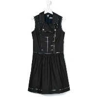 Junior Gaultier - zipped denim dress - kids - コットン - 14 yrs