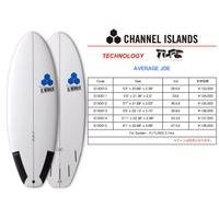 2016 5'11 Channel Islands Average Joe TLPC