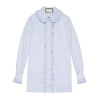 Gucci - Oxford shirt - women - コットン - 46