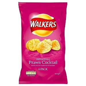 Walkers Crisps - Prawn Cocktail (6x25g) by Groceries [並行輸入品]