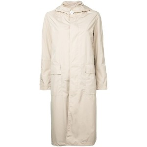 Mackintosh - button-down coat - women - ナイロン - 32