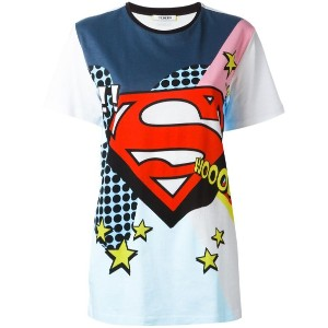 Iceberg - superhero tank top - women - コットン - 38