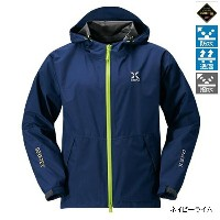 シマノ(SHIMANO) XEFO GORE-TEX BASIC Jacket RA-27JQ XL ネイビーライム