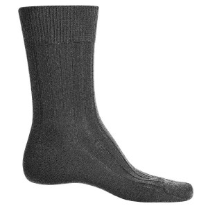 ファルケ Falke メンズ インナー ソックス【Teppich Crew Socks - Merino Wool】Dark Grey