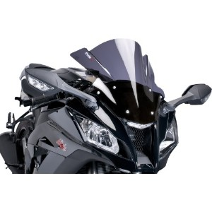 Puig レーシング Windscreen Clear for Kawasaki ZX-10R ZX10R 2006-2007 (海外取寄せ品)