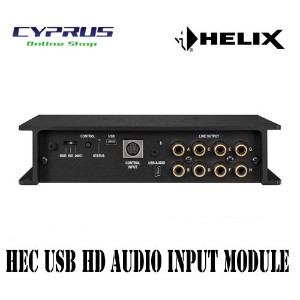 ヘリックス HELIX HEC HD-AUDIO USB for for P-SIX DSP MK2 P-SIX DSP MK2用HECモジュール (USBオーディオ入力) USB mini-B端子...