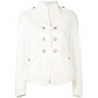 Ermanno Scervino - fitted jacket - women - コットン - 44