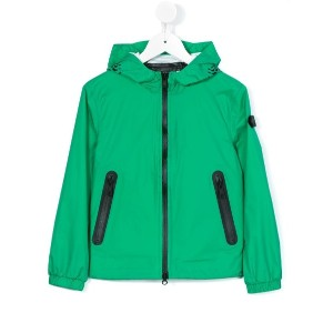 Ai Riders On The Storm Kids - hooded jacket - kids - ナイロン - 12歳