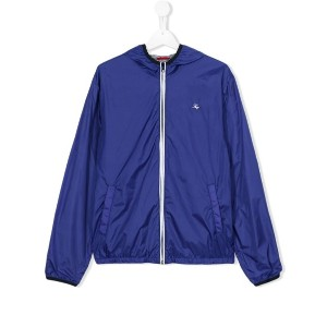 Fay Kids - lightweight hooded jacket - kids - コットン/Polyimide - 13 yrs