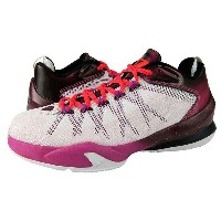 Jordan CP3.VIII 8 AE キッズ/レディース White/Infrared 23/Bordeaux ジョーダン バッシュ クリスポール