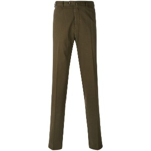 Loro Piana - straight pleated trousers - men - コットン - 46