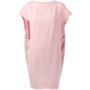 Gianluca Capannolo - cape dress - women - シルク - 44