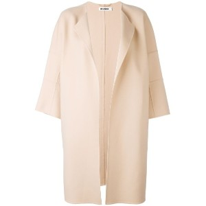 Jil Sander - oversized coat - women - カシミア - 40