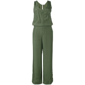 P.A.R.O.S.H. - flared jumpsuit - women - シルク - L