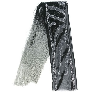 Rockins - sequins embellished scarf - women - ナイロン - ワンサイズ