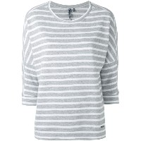Woolrich - striped jumper - women - コットン - L