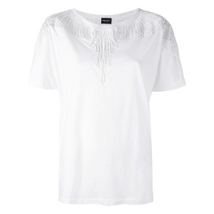 Marcelo Burlon County Of Milan - Valeska T-shirt - women - コットン/ポリエステル/ビスコース - M
