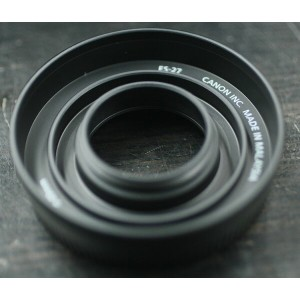 Canon ES-27 レンズフード EF-S35mm F2.8 マクロ IS STM用レンズフード【RCP】[fs04gm][02P23Apr16k]