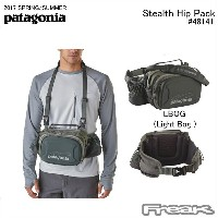 【PATAGONIA パタゴニア バッグ】48141<Stealth Hip Pack ステルス ヒップ パック10L>※取り寄せ品