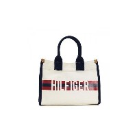 TOMMY HILFIGER(トミーヒルフィガー) トートバッグ 6929740 467 NATURAL/NAVY/RED