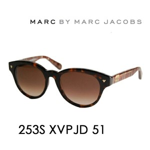 【OUTLET★SALE】マークバイマークジェイコブス サングラス MMJ-253S JD 51 MARC BY MARCJACOBS