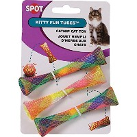 Ethical Products Spot Kitty Fun Tubes 3 Pack Fun Durable Interactive Cat Toy