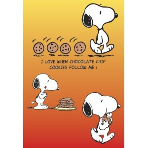 PEANUTS: COOKIES FOLLOWING SNOOPY POSTER (68,5cm x 101,5cm)