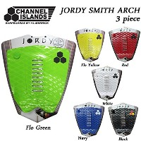 2016 AL MERRICK デッキパッド JORDY SMITH ARCH PAD ジョディー・スミス 3ピース CHANNEL ISLANDS (BLACK)