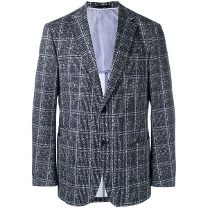 Z Zegna - checked two button jacket - men - コットン/スパンデックス/レーヨン - 54