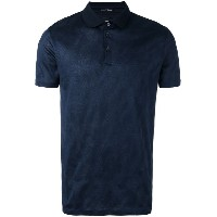 Boss Hugo Boss - textured polo shirt - men - コットン - L