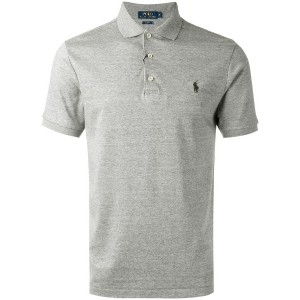 Polo Ralph Lauren - embroidered logo polo shirt - men - コットン - L