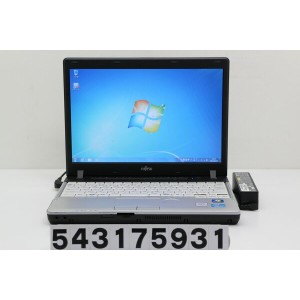 富士通 LIFEBOOK P771/D Core i5 2520M 2.5GHz/4GB/250GB/12.1W/WXGA(1280x800)/Win7【中古】【20170405】