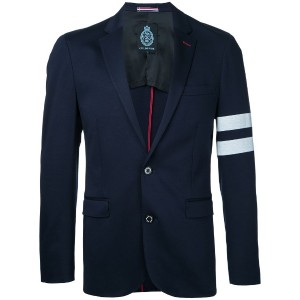 Guild Prime - striped sleeve blazer - men - コットン - 2